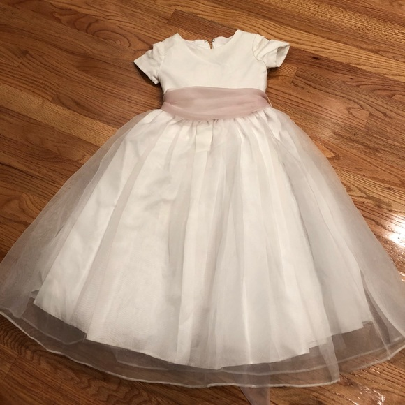 SIZE 0 TO 6 BNWT GIRLS PINK PARTY DRESS